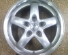 Set Fondmetal Wheels, Model 5900, 15""