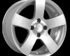 SET Wheels Fondmetal 6800, 7.5X17, Audi, VW, Skoda, Alfa Romeo
