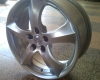 SET 9GR Fondmetal rims, 7.5X17, Audi, VW, Mercedes, Ford, etc..
