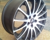 SET Wheels Fondmetal 7800, 7X17, Audi, VW, Opel, Ford etc.