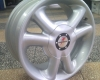 SET TECH2 Fondmetal rims, 7X15, Skoda, Alfa Romeo, Audi, VW etc.