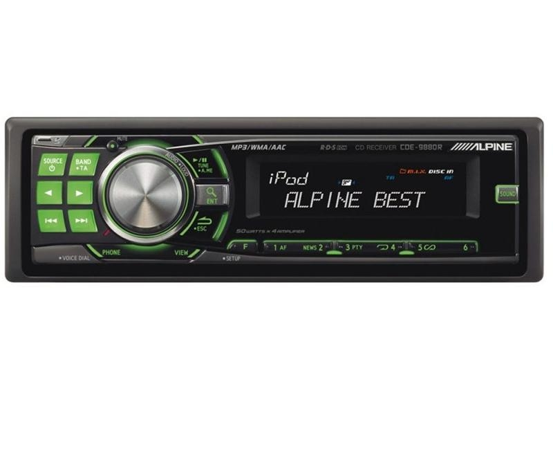 Radio MP3, Alpine (CDE-9880R)